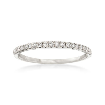 .25 ct. t.w. Diamond Stackable Ring in 14kt White Gold, , default