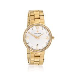 Giorgio Milano Women's 40mm Gold-Plated Stainless Steel Watch With Swarovski Crystals, , default