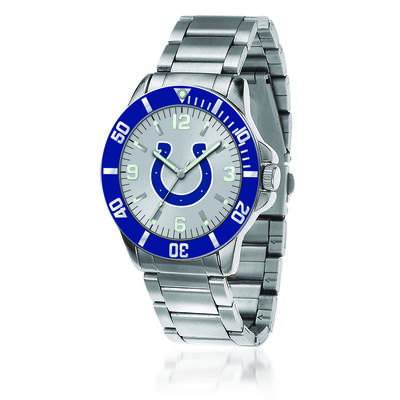 Men's 46mm NFL Indianapolis Colts Stainless Steel Key Watch, , default