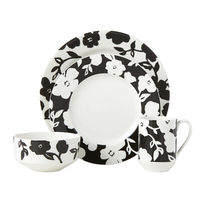"Kate Spade New York ""Primrose Drive"" 4-pc. Floral Ceramic Place Setting, , default"
