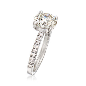 Majestic Collection 2.45 ct. t.w. Diamond Ring in 18kt White Gold. Size 7, , default