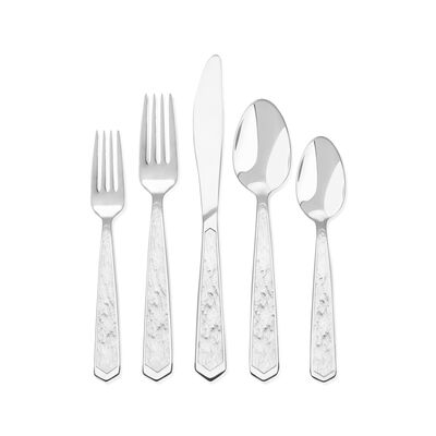 "Skandia ""Adelena"" 45-pc. 18/10 Stainless Steel Flatware Set, , default"