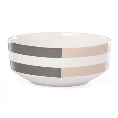 "Kate Spade New York ""Nolita"" Gray Serving Bowl"
