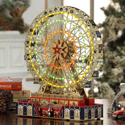 Mr. Christmas World's Fair Grand Ferris Wheel Music Box
