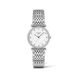 Longines La Grande Classique Women's 29mm .50 ct. t.w. Diamond Watch in Stainless Steel, , default