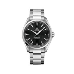 Omega Seamaster Aqua Terra Men's 41.5mm Stainless Steel Watch With Black Dial, , default