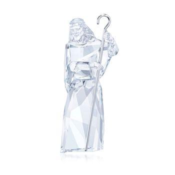 "Swarovski Crystal ""Nativity"" Crystal and Silvertone Shepherd Figurine, , default"