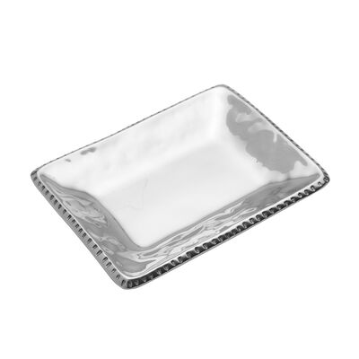 "Wilton Armetale ""River Rock"" Trinket Tray, , default"