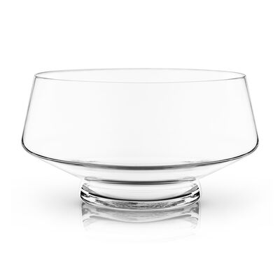Glass Footed Punch Bowl