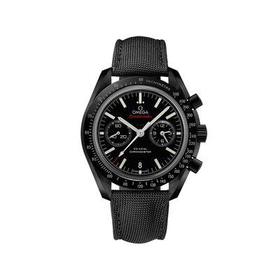 Omega Speedmaster Dark Side of the Moon Men's 44.25mm Black Ceramic Watch With Black Nylon Strap, , default