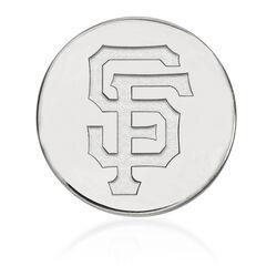14kt White Gold MLB San Francisco Giants Lapel Pin, , default
