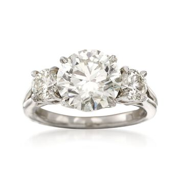 Majestic Collection 5.04 ct. t.w. Diamond Ring in Platinum, , default