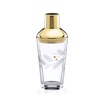 "Lenox ""Holiday"" Gold Cocktail Shaker, , default"