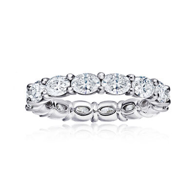 3.25 ct. t.w. Diamond Eternity Wedding Band in Platinum