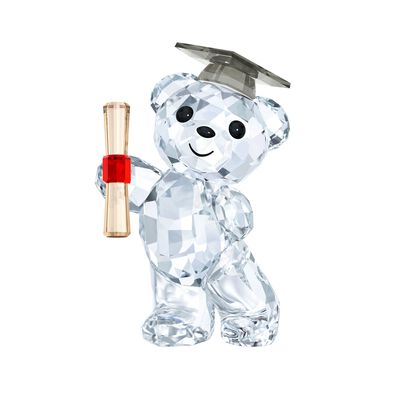 "Swarovski Crystal ""Kris Bear - Graduation"" Crystal Figurine"
