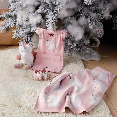 Elegant Baby Luna Unicorn Baby Gift Set, , default