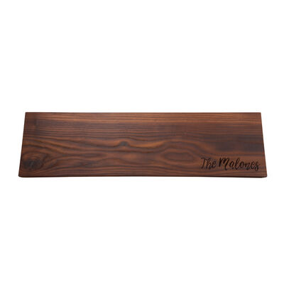Personalized Charcuterie Thermal Ash Plank Board, , default