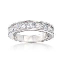 2.00 ct. t.w. Channel-Set Diamond Ring in 14kt White Gold, , default