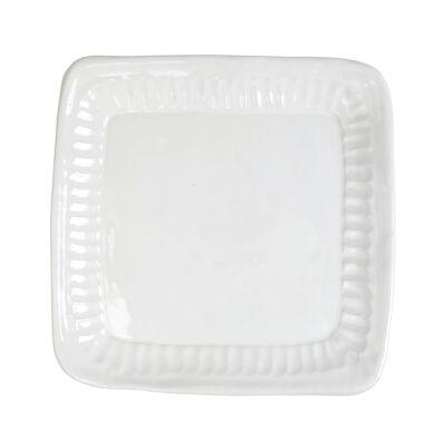 "Vietri ""Pietra Serena"" Square Platter from Italy"
