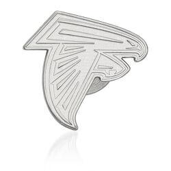 Sterling Silver NFL Atlanta Falcons Lapel Pin, , default