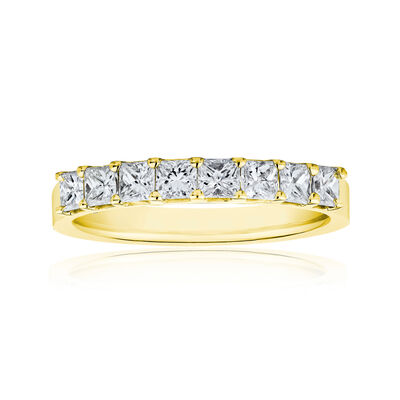 1.20 ct. t.w. Princess-Cut Diamond Ring in 14kt Yellow Gold, , default