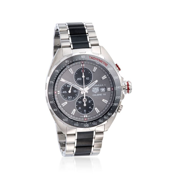 TAG Heuer Formula 1 Men's 43mm Chronograph Stainless Steel Watch , , default
