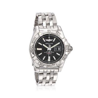 Breitling Galactic Men's 41mm Stainless Steel Watch, , default