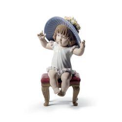 """Lladro """"Dress up Time"""" Porcelain Figurine, , default"""