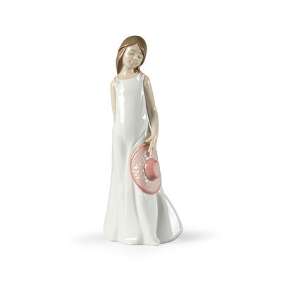 "Nao ""Thinking of You"" Porcelain Figurine, , default"