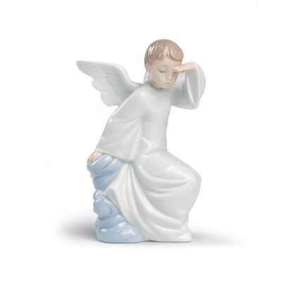 "Nao ""Watching Over You"" Porcelain Figurine, , default"