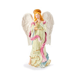"Fitz and Floyd ""White House"" Angel With Horn Figurine, , default"