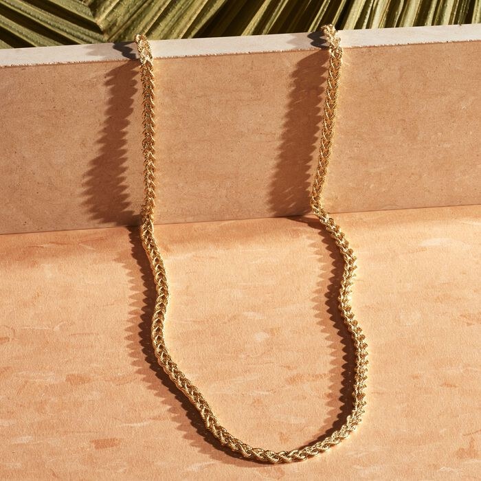 14kt Yellow Gold Double-Rope Necklace