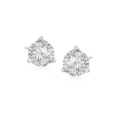 .75 ct. t.w. Diamond Martini Stud Earrings in Platinum , , default