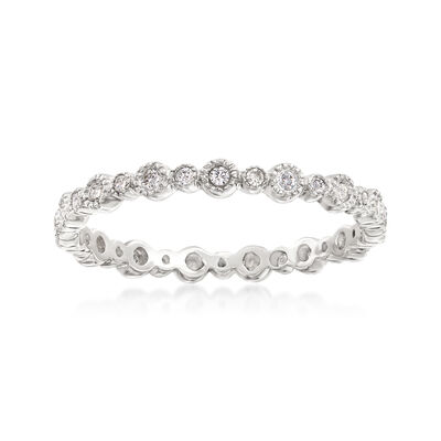 .25 ct. t.w. Diamond Eternity Band in 14kt White Gold