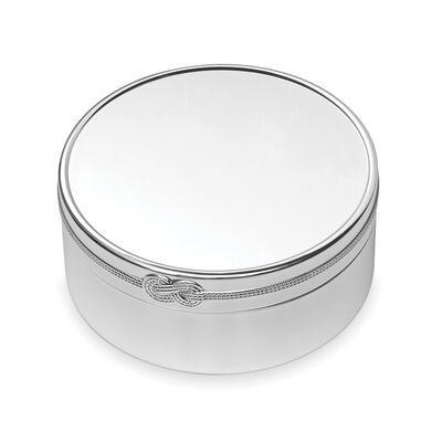"Vera Wang for Wedgwood ""Infinity"" Round Keepsake Box"