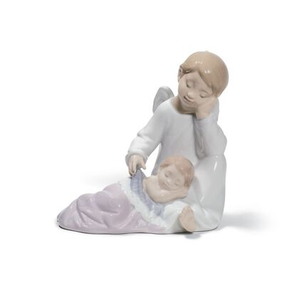 "Lladro ""My Guardian Angel"" Re-Deco Porcelain Figurine, , default"