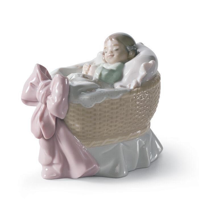 "Lladro ""A New Treasure"" Porcelain Figurine"
