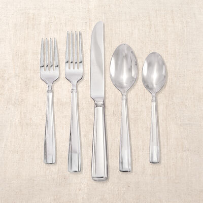 """Reed & Barton """"Andover Pearl"""" 65-pc. Service for 12 Stainless Steel Flatware, , default"""
