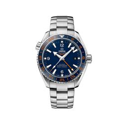 Omega Seamaster Planet Ocean Men's 43.5mm Stainless Steel Watch With Blue Dial, , default