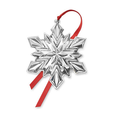 Gorham 2020 51st Edition Sterling Silver Snowflake Ornament