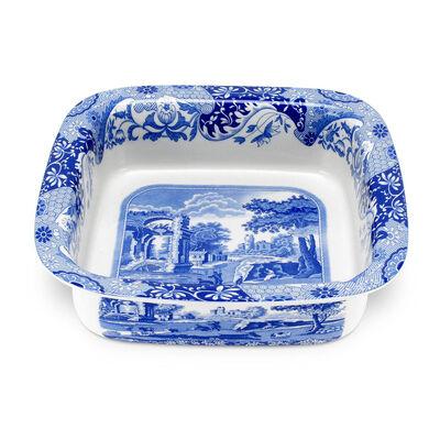 "Spode ""Blue Italian"" Square Dish"