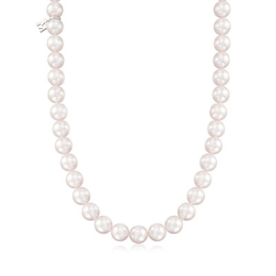 Mikimoto 7-7.5mm a Akoya Pearl Necklace with 18kt White Gold, , default