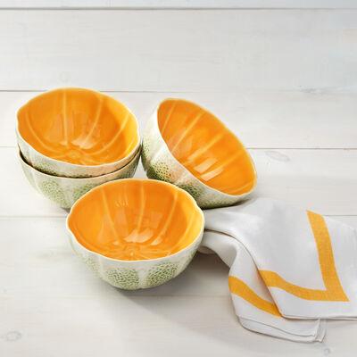 Bordallo Pinheiro Melon - Set of Four Bowls, , default