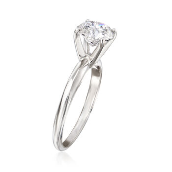 1.50 Carat Diamond Solitaire Ring in Platinum, , default