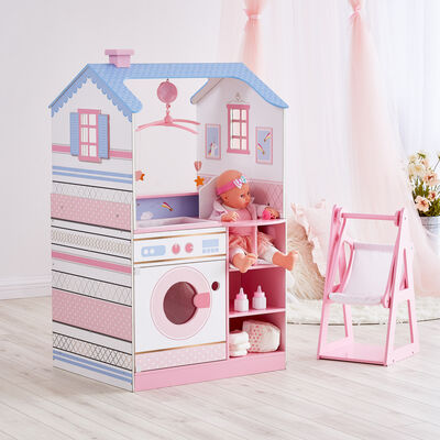 Child's Classic Doll Changing Station Dollhouse