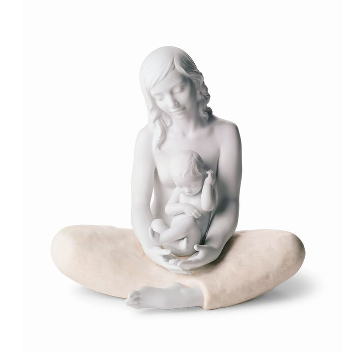 "Lladro ""The Mother"" Porcelain Figurine, , default"
