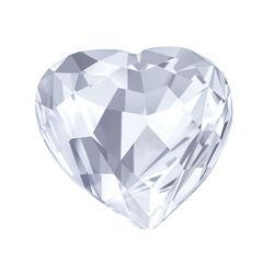 "Swarovski Crystal ""Small Brilliant Heart"" Figurine, , default"