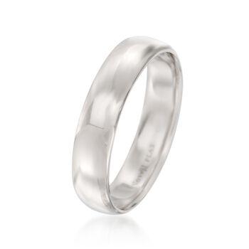 Men's 5mm Platinum Wedding Ring, , default