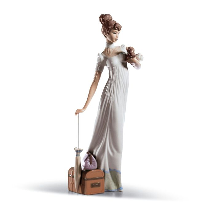 "Lladro ""Traveling Companion"" Porcelain Figurine , , default"