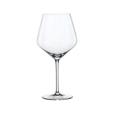 """Style"" Set of 4 Burgundy Wine Glasses"